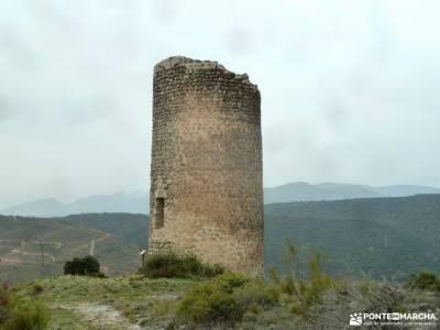 Alcornocal Dehesa Vieja-Atalaya Arrebatacapas;ruta cascada del purgatorio almiruete monton de trigo
